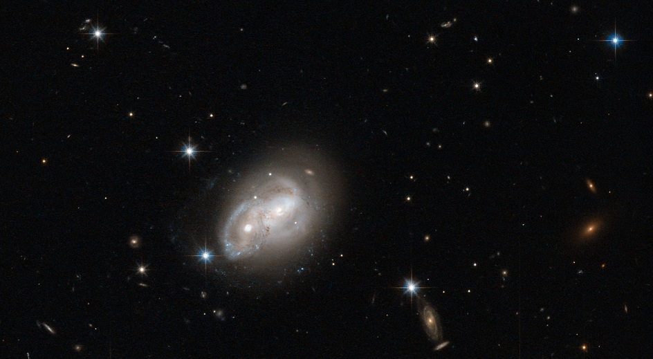 Galaxy gets a cosmic hair ruffling