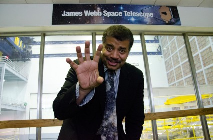 Dr. Neil deGrasse Tyson Visits NASA Goddard