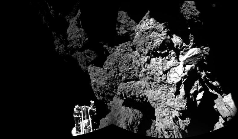 Philae primera foto en cometa