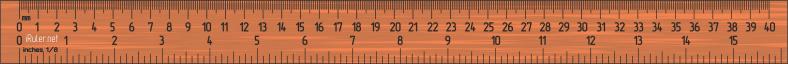 regla ruler_40cm
